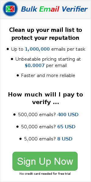 Email Verifier - Checks validity of email addresses